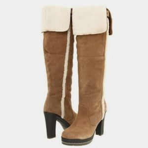 Kelsi Dagger Rozelle suede over the knee boots